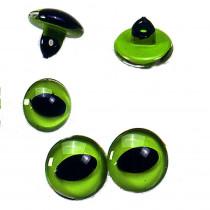 Katzenaugen ø 10 mm 4 Stk. grün