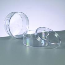 Kunststoffdose 4cm glasklar leer