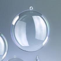 Kunstoff-Medaillon 9cm klar