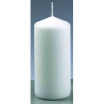 Stumpenkerze weiß 6cm x 13 cm