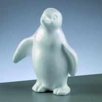 Styroporfigur Pinguin