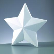 Styropor-Stern