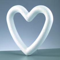 Styropor Herz-Rahmen