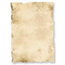 Urkundenpapier creme marmoriert