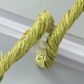 Raffia-Gartenbast 50g hellgrün