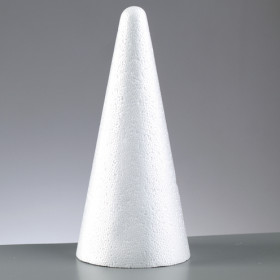 Styroporkegel 12cm x 7cm