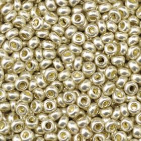 Indianerperlen silber metallic 2,6mm 17g Dose
