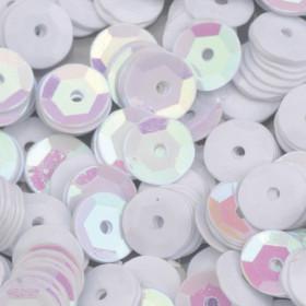 Pailletten weiß 6mm gewölbt 4000 Stück