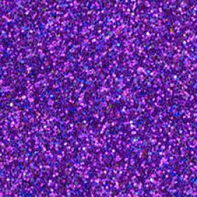 Moosgummiplatte glitter lila 2mm 20x30cm