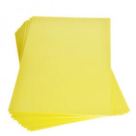 Moosgummiplatte gelb 2mm 20x30cm