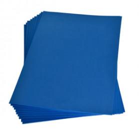 Moosgummiplatte blau 2mm 20x30cm