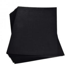 Moosgummiplatte schwarz 2mm 20x30cm