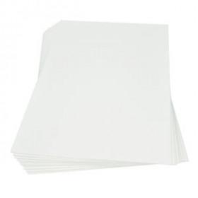 Moosgummiplatte weiß 2mm 30x45cm