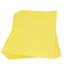 Moosgummiplatte gelb 2mm 30x45cm