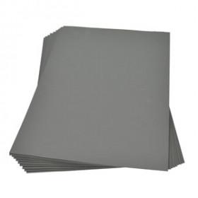Moosgummiplatte grau 2mm 30x45cm