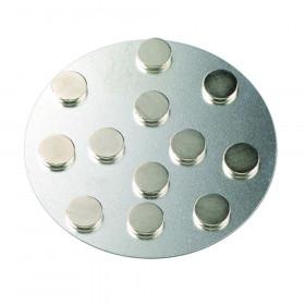 Magnete 10mm rund extra stark 12 Stück