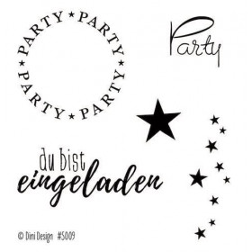 Clearstamp Stempel Dini Design Party