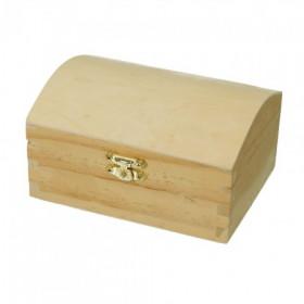 Holztruhe Kiefer 13,3 x 9,5 x 7 cm roh