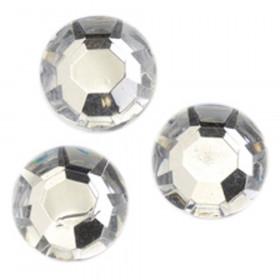 Strass-Schmucksteine 12mm kristall 75 Stk.