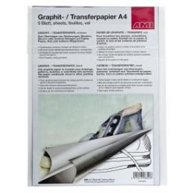 Graphitpapier A4 5 Bögen