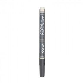 Acryl Marker Darwi dünne Spitze 0,8mm weiß 3ml
