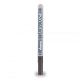 Acryl Marker Darwi dünne Spitze 0,8mm kaltgrau 3ml