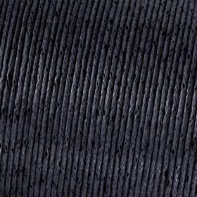 Baumwollkordel schwarz 1mm gewachst 6m