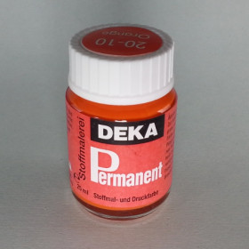 Stoffmalfarbe Orange Deka-Permanent 25ml