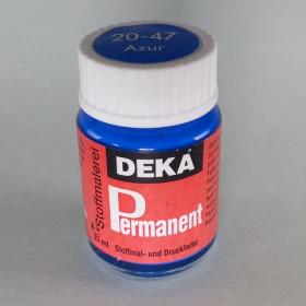 Stoffmalfarbe Azur Deka-Permanent 25ml