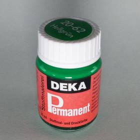 Stoffmalfarbe Hellgrün Deka-Permanent 25ml