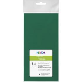 Seidenpapier dunkelgrün 50x70cm 5 Bögen