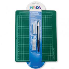 Schneid-Set 19x23cm + Bastelmesser