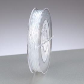 Gummifaden transparent 0,5mm 10m