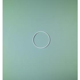 Drahtring weiß 10cm