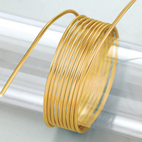Aludraht 2mm gold 5m
