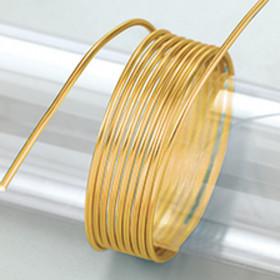 Aludraht 2mm gold 5m