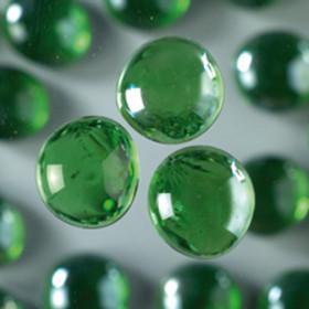 Glasnuggets grün irisierend 18 - 20 mm 100g