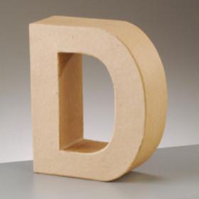 3D Dekobuchstabe aus Pappmache 17,5cm D