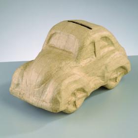 PappArt Figur Spardose VW Käfer 16,5 x 8,5 x 9 cm