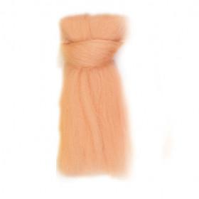 Filzwolle Kammzug Haut 50g