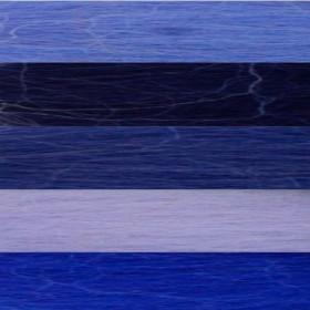 Filzwolle Kammzug Blaumix 50g