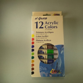 El Greco Acryl Set 12x12ml