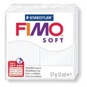 Modelliermasse FIMO® Soft weiß 57g
