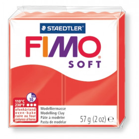 Modelliermasse FIMO® Soft rot 57g