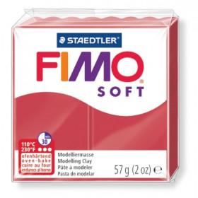 Modelliermasse FIMO® Soft kirschrot 57g