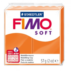 Modelliermasse FIMO® Soft mandarine 57g
