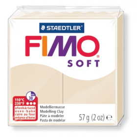 Modelliermasse FIMO® Soft sahara 57g