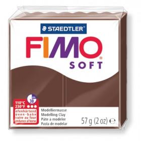 Modelliermasse FIMO® Soft braun 57g