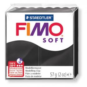 Modelliermasse FIMO® Soft schwarz 57g