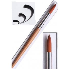 Schulpinsel Größe 2 rund (3mm)